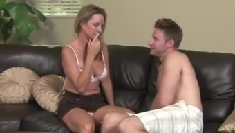 jodi west gets persuaded by her stepson