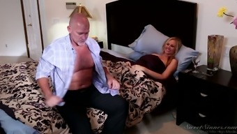 Exceptionally sexual intercourse with sexually imposed blond milf Julia Ann