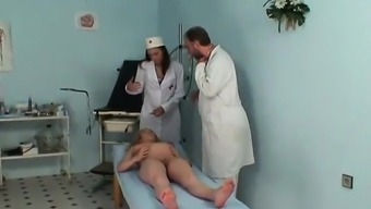 Becomes pregnant milf fucked by gynaecologist- More On HDMilfCam com