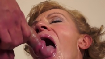 Granny is making out this incredibly succulent puncture