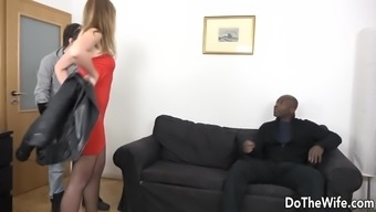 Housewife Has a Black Cock Out Her Butt