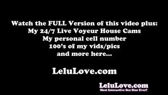 Lelu Love-Trying On Peak Upskirt Pussy Peeks JOI