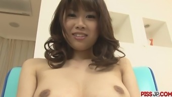 Busty Baby Ririka Suzuki Gets Laid a hand To Orgasm
