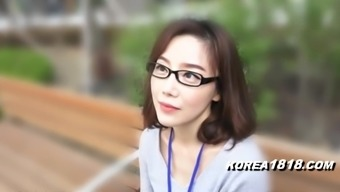 KOREA1818.COM - fluent Cutie in glasses