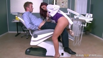 dr. monique alexander stroking her person's colossal shaft