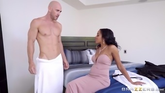 johnny social deviance demonstrates his great boner to actually anya ivy