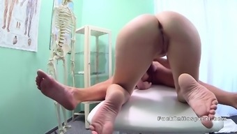 Big cock health professional between patients legs at once