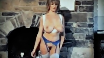 All set for Personal LOVE - vintage British huge boobs piece dancing