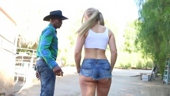 Sit back and watch how lovely blond got deep fuck by maximum lover. This lady really loves it.