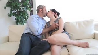 aria alexander movements and deepthroats her stepdad's penis