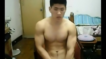 Strapping Eastern hunk takes off his dress and bad boys off his cock