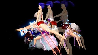 [Touhou MMD] EXTREME Versus.Extensive BBA