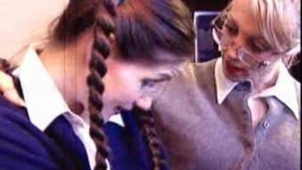 Lesbian pupil and tutor