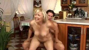 Little Grow older Enjoy Intercourse In The Kitchen