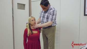 Schoolgirl Sarah Vandella gets rough rectum fuck on pogo place