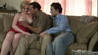 Chris Dano interests cock sucking and sizzling 3some act