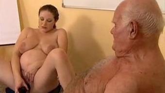 Grandpa fucks gets pregnant krown
