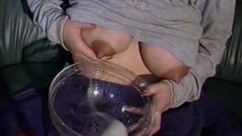 Mom's vast lactating boobs need relief 13