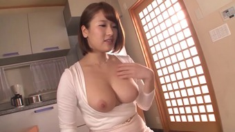 Great breasts Far eastern dame in tight evening wear gets laid