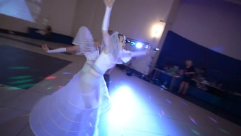 the bride's beautiful dance