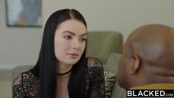 BLACKED Marley Brinx first bbc in their booty