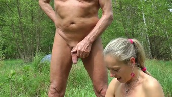 Automobile Sporadic, wanking in woodwork and seashore, sexual intercourse along with viewers