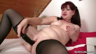 Son in law goes off his GF\'s old mother