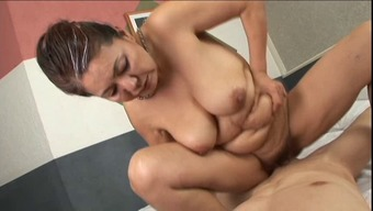 anal passage with the use of from asia granny