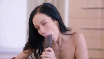 Teenager Megan Anal passage Threesome Fucked