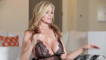 Julia Ann adores black monster penis