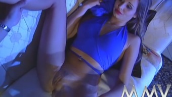 Attractive moaner gives remarkable blowjob and fucks like sex-crazy