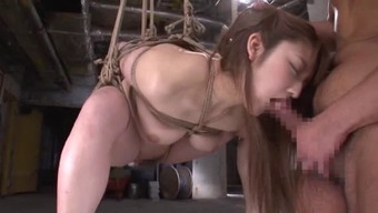Intense slavery mania performance with the use of abandoned Japanese people cowgirls