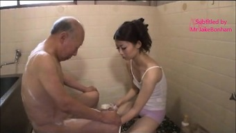 Japanese Wifey Natsume and Father-in-Law two(2) (MrBonham)