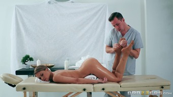 Attractive Kendall is oiled way up and ready regarding the personal type of penetration