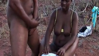 west african sexual intercourse trip threesome orgy