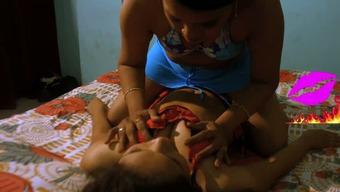 Extraordinary Indian heated mallu lesbian human body rubdown on cam