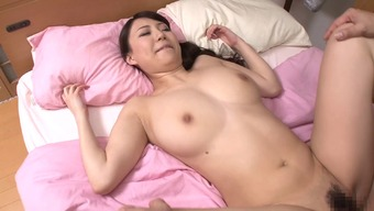 Japanese mom with remarkable major genuine titties fucked