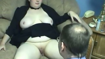 Plumper milk bloody BBW op welke manier gets her inflated cunt fed themselves