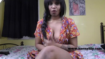 Perverted Lily Horny Indian Mother Part Spin