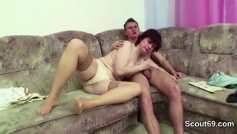 Mother Manipulate Move Teenager to actually Fuck her Hairy Pussy complicated