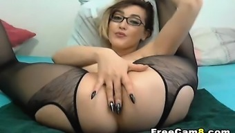 Sizzling Missy Drooling Soppy Pussy Self pleasure