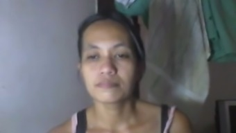 Severely bosomy Filipina mom pieces and possesses of her major naturals