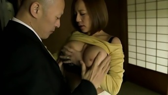 Japanese with big titties gets fucked seriously
