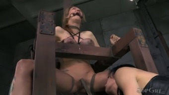 Juggy chicken with busy human body gets her trashy cherry fucked by naughty female friend