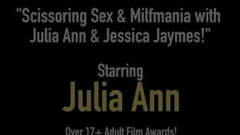 Scissoring Intercourse & Milfmania by using Julia Ann & Jessica Jaymes!