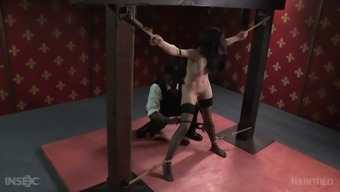 Beautiful love Ivy Adams is attacked through man by using a thralldom fetish