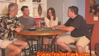 CUCKOLD Boyfriend questioned to view Companion Group FUCKED