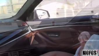 Elegance Gets Roadside Rectum online video starring Sharp Di - Mofos.com