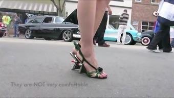 Sexy Date Sensation In Heels