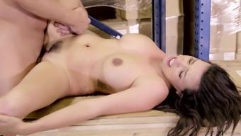 Danica Dillon seduces a providential companion to produce a great shagging event
